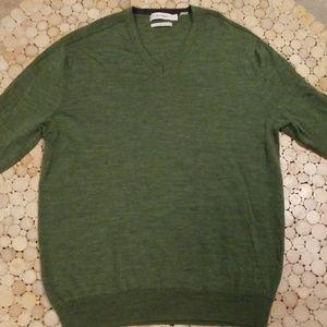 Calvin Klein Merino Wool V Neck Sweater